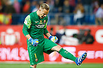 FC Barcelona's Marc-Andre Ter Stegen celebrates goal during Spanish Kings Cup Final match. May 22,2016. (ALTERPHOTOS/Acero)