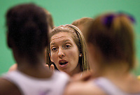 07 OCT 2009 - LOUGHBOROUGH, GBR - Olivia Murphy coaches the  Loughborough Lightning in the match against the Australian Diamonds (PHOTO (C) NIGEL FARROW)