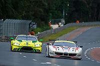 #70 MR RACING (JPN) FERRARI 488 GTE GTE AM MOTOAKI ISHIKAWA (JPN) OLIVIER BERETTA (MCO) EDWARD CHEEVER (ITA)