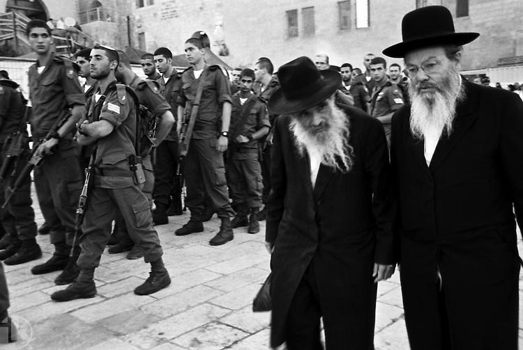 Israeli Defense Forces graduation at Wailing Wall