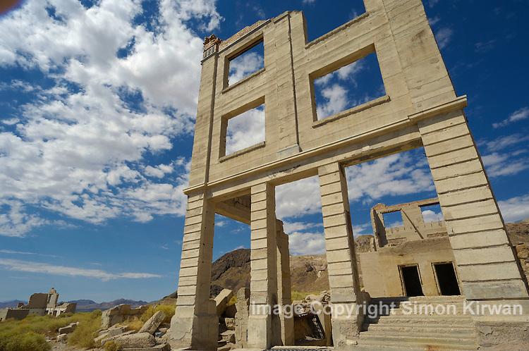 Rhyolite, Nevada, USA