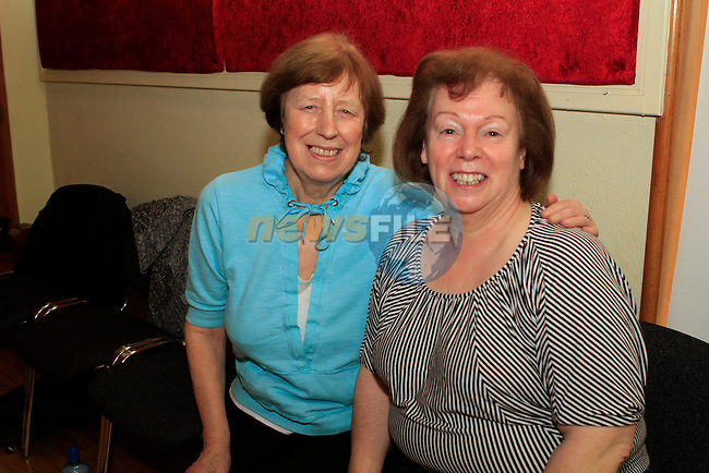 Paula and Aine at the Annual Set Dancing Weekend in An Grianan, Termonfeckin...Photo NEWSFILE/Jenny Matthews..(Photo credit should read Jenny Matthews/NEWSFILE)
