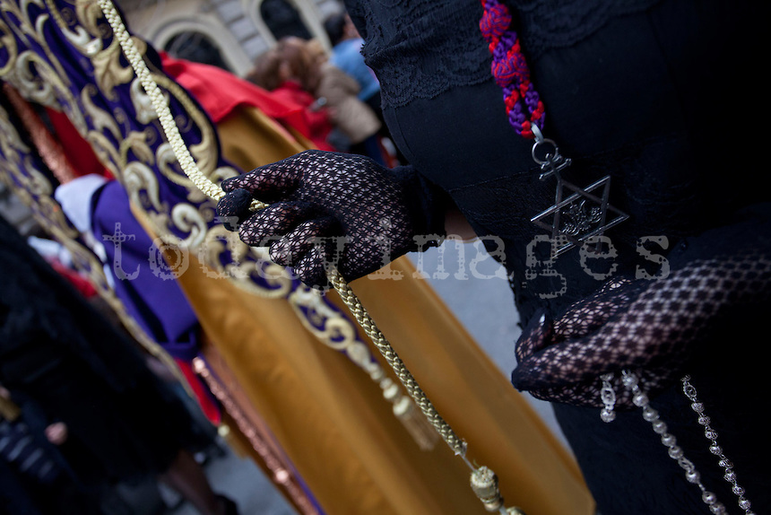 Gypsy procession in Granada