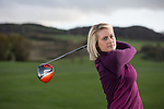 Amy Boulden<br /> Maesdu Golf Club<br /> 05.11.14<br /> ©Steve Pope-SPORTINGWALES