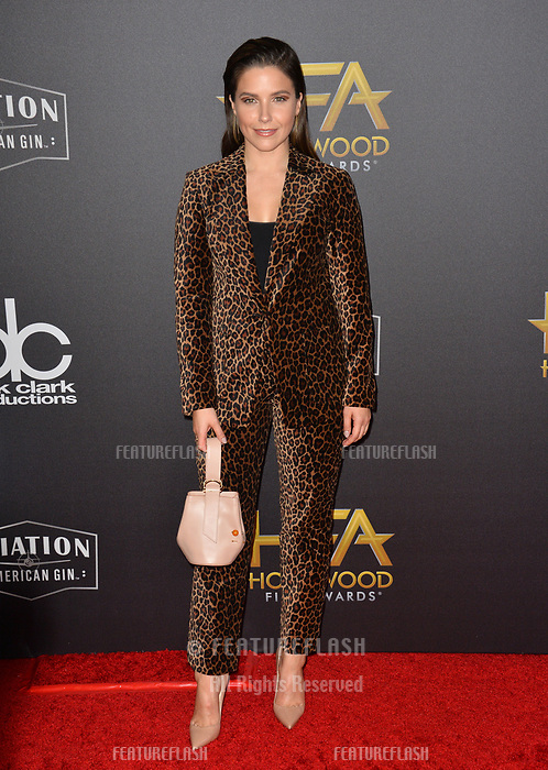 LOS ANGELES, CA. November 04, 2018: Sophia Bush at the 22nd Annual Hollywood Film Awards at the Beverly Hilton Hotel.<br /> Picture: Paul Smith/Featureflash