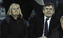 02/05/2007       Copyright Pic: James Stewart.File Name : sct_jspa07_raith_rovers_v_stirling_albion.GORTDON BROWN TAKES HIS SEAT IN THE STAND TO WATCH THE SECOND HALF OF THE RAITH ROVER'S V STIRLING ALBION GAME WITH MARILYN LIVINGSTON MSP.James Stewart Photo Agency 19 Carronlea Drive, Falkirk. FK2 8DN      Vat Reg No. 607 6932 25.Office     : +44 (0)1324 570906     .Mobile   : +44 (0)7721 416997.Fax         : +44 (0)1324 570906.E-mail  :  jim@jspa.co.uk.If you require further information then contact Jim Stewart on any of the numbers above.........