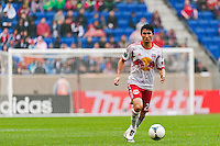 Kosuke Kimura (27) of the New York Red Bulls. The New York Red Bulls defeated the Los Angeles Galaxy 1-0 during a Major League Soccer (MLS) match at Red Bull Arena in Harrison, NJ, on May 19, 2013.
