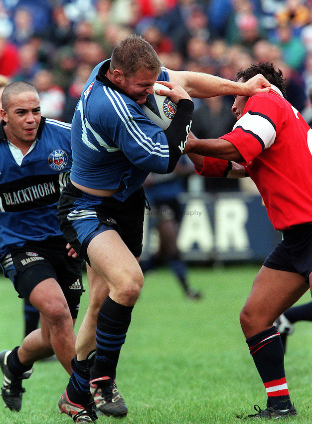 Photo: Ken Brown.10.10.99  Bath v Gloucester.Ben Sturnham