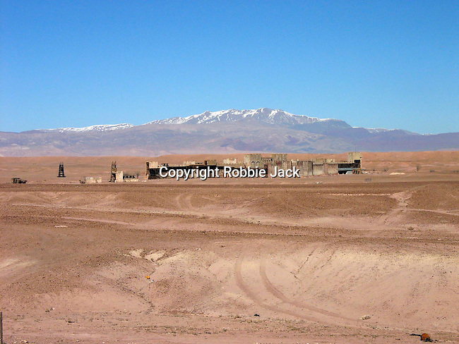 Kingdom of Heaven set at the Atlas Film Studios in Quarzazate Morocco.