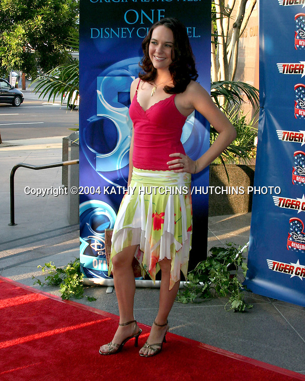 "©2004 KATHY HUTCHINS /HUTCHINS PHOTO.PREMIERE OF ""TIGER CRUISE"".HOLLYWOOD, CA.JULY 27, 2004..COURTNEE DRAPER."