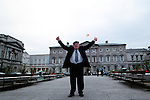 A file picture of Jackie Healy-Rae  at  the Dail.<br /> Picture by Don MacMonagle