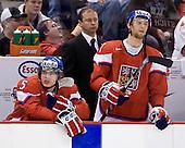 Milan Doczy (Czech Republic - 5), ?, Vladimir Ruzicka (Czech Republic - 17) - The US defeated the Czech Republic 4-3 on Sunday, December 28, 2008, at Scotiabank Place in Kanata (Ottawa), Ontario, during the 2009 World Junior Championship.