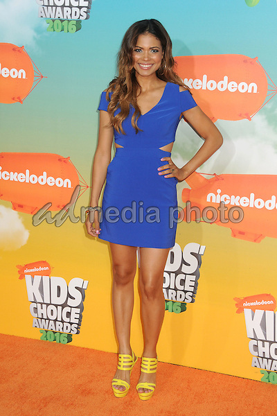 12 March 2016 - Inglewood, California - Jennifer Freeman. 2016 Nickelodeon Kids' Choice Awards held at The Forum. Photo Credit: Byron Purvis/AdMedia