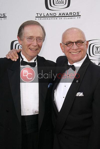 Bernie Kopell and Gavin MacLeod