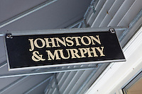 A Johnston and Murphy store is pictured at Lee Premium Outlets in Lee (MA), Tuesday October 1, 2013.