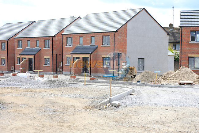 the House in Moneymore that are nearly finished may have to be demolished and rebuilt.<br /> Picture:  www.newsfile.ie