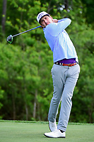 Kelly Kraft (USA) watches his tee shot on 13 during round 1 of the Shell Houston Open, Golf Club of Houston, Houston, Texas, USA. 3/30/2017.<br /> Picture: Golffile | Ken Murray<br /> <br /> <br /> All photo usage must carry mandatory copyright credit (&copy; Golffile | Ken Murray)