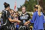 26 October 2008: Duke's Sheila Kramer. The Duke University Blue Devils defeated the Clemson University Tigers 6-0 at Koskinen Stadium in Durham, North Carolina in an NCAA Division I Women's college soccer game.
