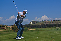 Thomas Bjorn (DEN) on the 8th tee during Round 3 of the Rocco Forte Sicilian Open 2018 played at Verdura Resort, Agrigento, Sicily, Italy on Saturday 12th May 2018.<br /> Picture:  Thos Caffrey / www.golffile.ie<br /> <br /> All photo usage must carry mandatory copyright credit (&copy; Golffile   Thos Caffrey)