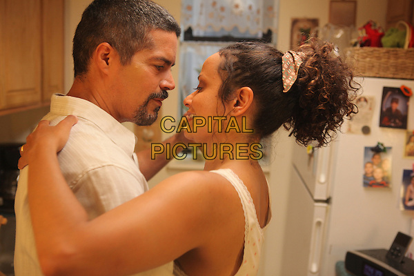 ESAI MORALES & JUDY REYES.in Gun Hill Road .*Filmstill - Editorial Use Only*.CAP/FB.Supplied by Capital Pictures.