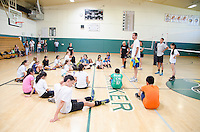 The Harker School - Summer Programs 2013 - Volleyball Sports Camp - Photo by Kyle Cavallaro