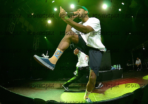 TYLER THE CREATOR (real name Tyler Gregory Okonma) - performing live to promote his third solo album 'Wolf' at the Academy in Islington London UK - 30 Mar 2013.  Photo credit: George Chin/IconicPix