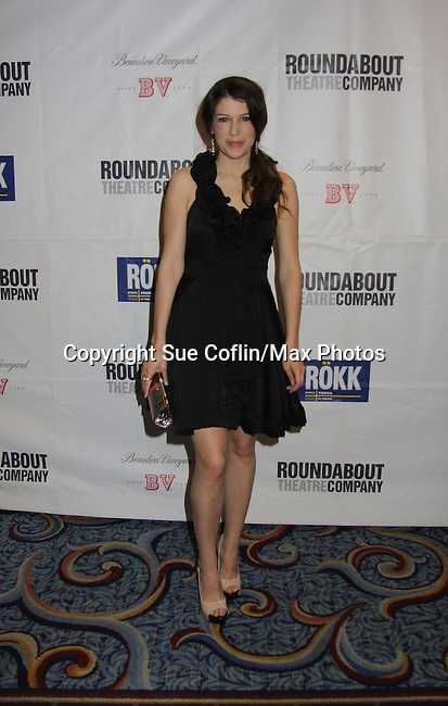 Nicole Parker (cast) at Opening Night of Roundabout Theatre Company's Broadway production of The People in the Picture on April 28, 2011 at Studio 54 Theatre, New York City, New York. (Photo by Sue Coflin/Max Photos)
