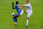 13.07.2019, Parkstadion, Zell am Ziller, AUT, FSP, Werder Bremen vs. Darmstadt 98<br /> <br /> im Bild / picture shows <br /> <br /> Felix Beijmo (Werder Bremen #02)<br /> Braydon Manu (Darmstadt 98 #33)<br /> <br /> Foto © nordphoto / Kokenge