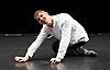 Wild Card : Dan Daw <br /> at Lilian Baylis Studio, Sadler's Wells, London, Great Britain <br /> rehearsal <br /> 29th March 2017 <br /> <br /> <br /> <br /> On One Condition <br /> Dan Daw <br /> <br /> <br /> Photograph by Elliott Franks <br /> Image licensed to Elliott Franks Photography Services