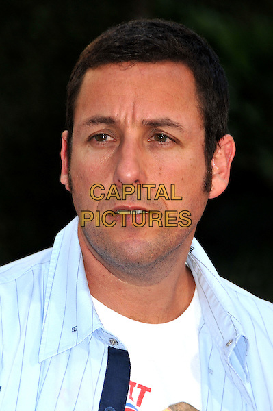 "ADAM SANDLER.""Funny People"" Los Angeles Premiere held at Arclight Cinemas, Hollywood, CA, USA..July 20th, 2009.headshot portrait collar blue .CAP/ADM/BP.©Byron Purvis/AdMedia/Capital Pictures."
