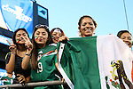 15 July 2015: Mexico fans. The Mexico Men's National Team played the Trinidad & Tobago Men's National Team at Bank of America Stadium in Charlotte, NC in a 2015 CONCACAF Gold Cup Group C match. The game ended in a 4-4 tie.