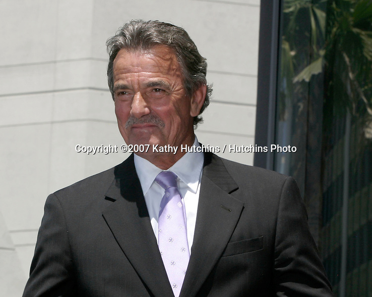 Eric Braeden.Eric Braeden receives a star on the .Hollywood Walk of Fame.Los Angeles, CA.July 20, 2007.©2007 Kathy Hutchins / Hutchins Photo....
