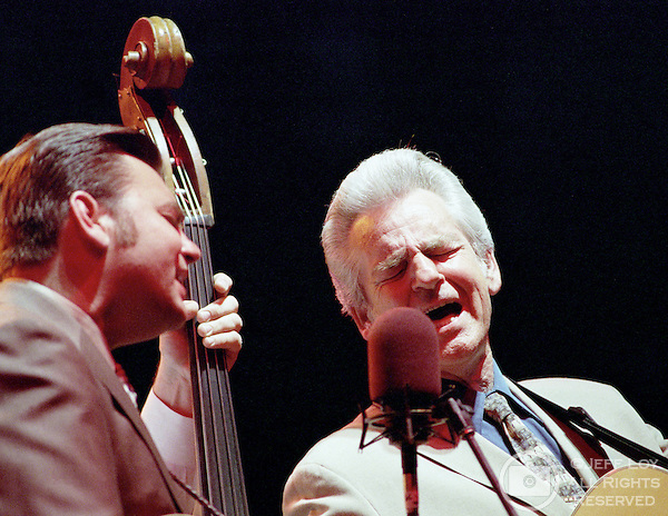 Ronnie and Del McCoury