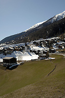 Ritzingen in the Swiss alps- close to the Furkapass, Oberwald, Switzerland.