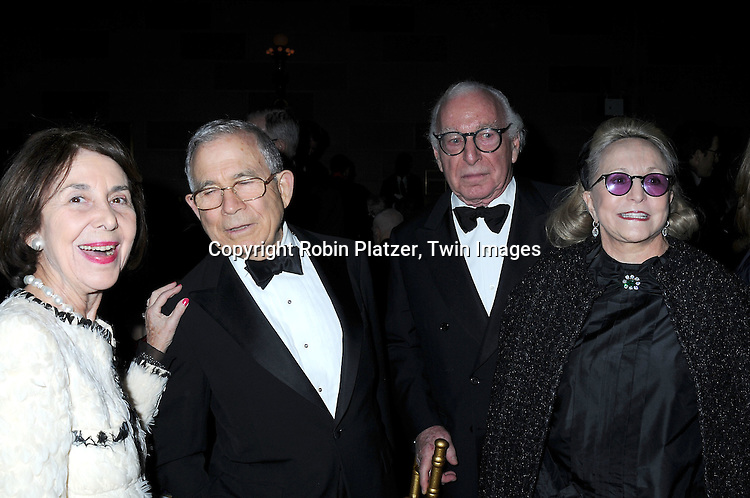 Sue and Donald Newhouse, Carl Spielvogel and wife Barbaralee Diamonstein-Spielvogel