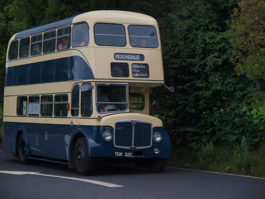 AEC Regent Double Decker Buses - 1959