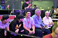 RENE CHARLES ANGELIL (fils de Celine Dion) et quelques membres de la famille assistent au CONCERT DE CELINE DION PARIS ACCOR HOTEL ARENA 04/07/2017