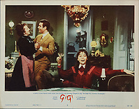 Gigi (1958) <br /> Lobby card with Leslie Caron, Louis Jourdan &amp; Hermione Gingold<br /> *Filmstill - Editorial Use Only*<br /> CAP/MFS<br /> Image supplied by Capital Pictures