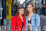 Killarney Presentation girls Megan Brosnan Farranfore and Aoife Cronin Spa celebrate their Leaving Cert results in Killarney on Monday