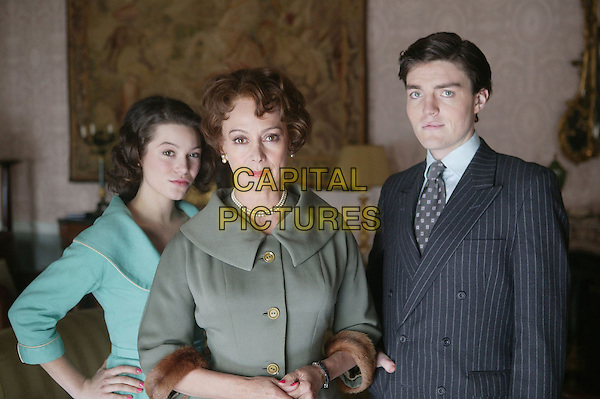 NATHALIE LUNGHI, FRANCESCA ANNIS & TOM BURKE.in Jericho.?A Pair of Ragged Claws?.*Editorial Use Only*.www.capitalpictures.com.sales@capitalpictures.com.Supplied by Capital Pictures.