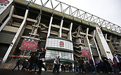 4th November 2017, Twickenham Stadium, Twickenham, England; Autumn International Rugby, Barbarians versus New Zealand; General view of outside Twickenham Stadium before kick off