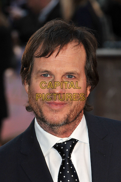 Bill Paxton.'Titanic 3D' world premiere, Royal Albert Hall, London, England..27th March 2012.headshot portrait black white polka dot stubble beard facial hair .CAP/BF.©Bob Fidgeon/Capital Pictures.