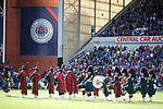 Pipes and Drums on the park at half time