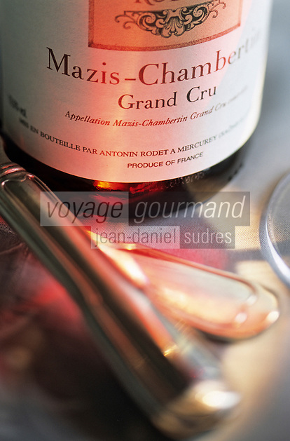 Europe/France/Bourgogne/21/Côte d'Or/Mercurey: La maison de Champ Renard de Bertrand Devillard - Bourgognes Antonin - Dégustation d'un Mazis Chambertin