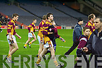 Duagh v Greencastle, Tyrone at Croke Park on Saturday night in the All Ireland Junior Club Football final..