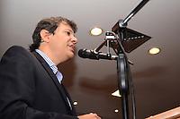 SAO PAULO, SP, 01/04/2014, POSSE SECRETARIO DA IGUALDADE RACIAL, O Prefeito Fernando Haddad na posse do Novo Secretario da Igualdade Racial na Prefeitura de São Paulo região central da cidade nesta Terca Feira 1. ( Foto: Bruno Ulivieri / Brazil Photo Press )