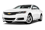 Low aggressive front three quarter view of a 2014 Chevrolet Impala 2 LT2014 Chevrolet Impala 2 LT