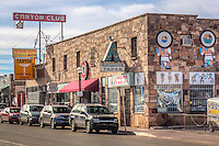 Sign for the Canyon Club in Willians Arizona, on Route 66.