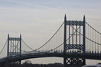 NEW YORK, NJ - DECEMBER 01: The Robert F Kennedy  bridge it's seen on December 01, 2018 in New York City. According to the The National Climate Assessment draws on input from 13 federal agencies, climate change will slice hundreds of billions of dollars out of the US economy. By the end of the century, climate change could cost the United States $500 billion per year.(Photo by Kena Betancur/VIEWpress)
