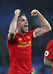 Jordan Henderson of Liverpool after the English Premier League match at Goodison Park, Liverpool. Picture date: December 19th, 2016. Photo credit should read: Lynne Cameron/Sportimage
